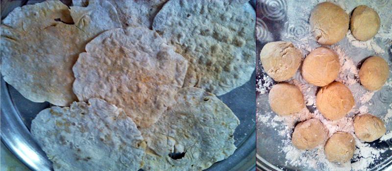 طرز تهیه نان لواش
