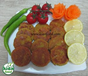 Vegetable cutlets KIANFOOD
