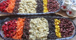 طرز تهیه سالاد کینوا مکزیکی