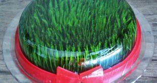 ژله سبزه عید