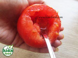 دلمه گوجه فرنگی با کینوا
