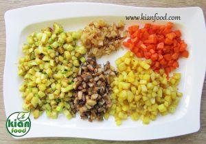 طرز تهیه مافین کینوا و سبزیجات