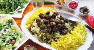 طرز تهیه کلم پلو شیرازی با قلقلی کینوا و آمارانت