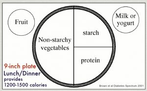 روش تقسیم بشقاب یک راه ساده برای سلامتی