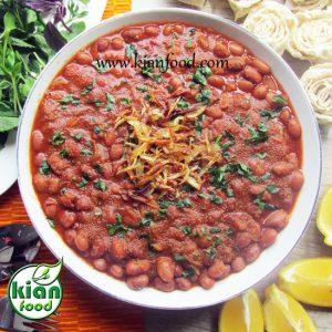 خوراک لوبیا چیتی با آمارانت