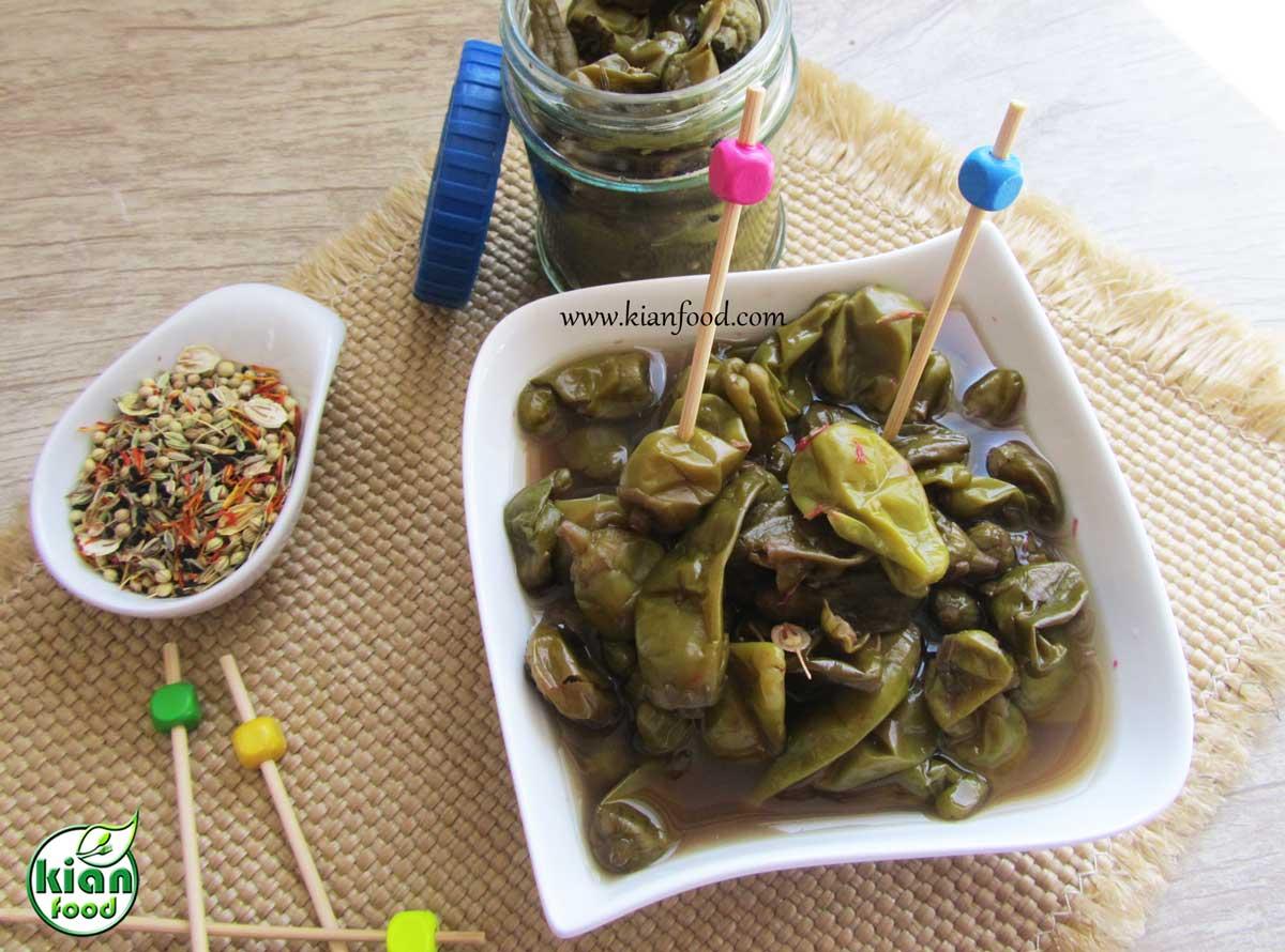 طرز تهیه ترشی کرفس Pepper Pickles - کیان فود | سلیقه سلامتی