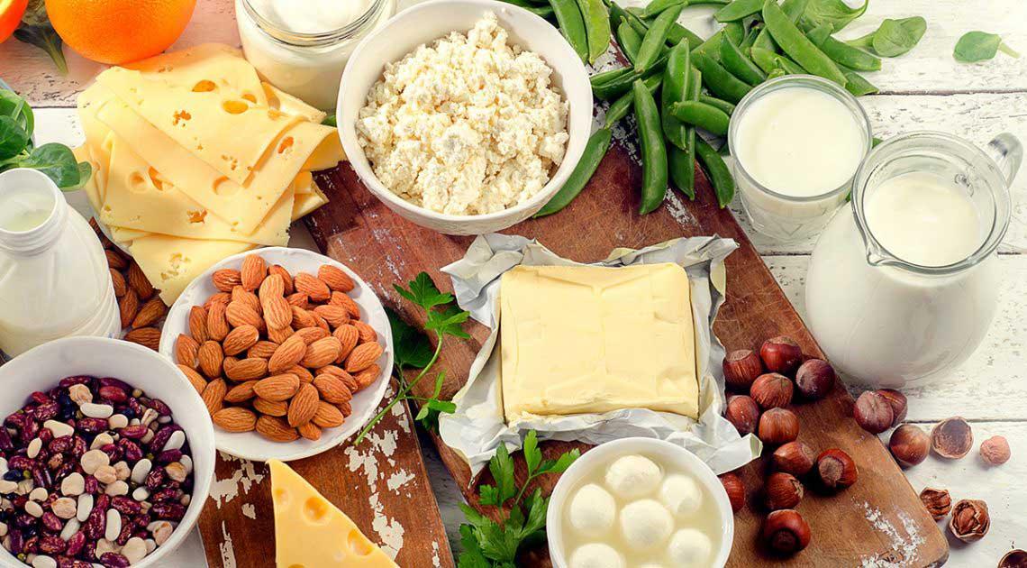 برنامه رژیم غذایی با کلسیم