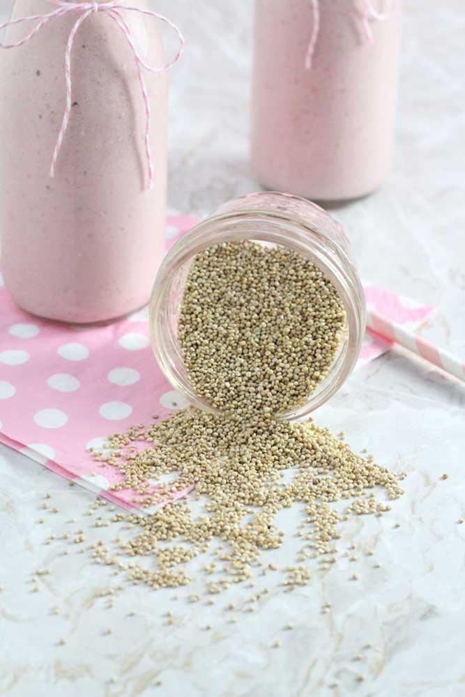 غذای کمکی با کینوا برای شیرخواران