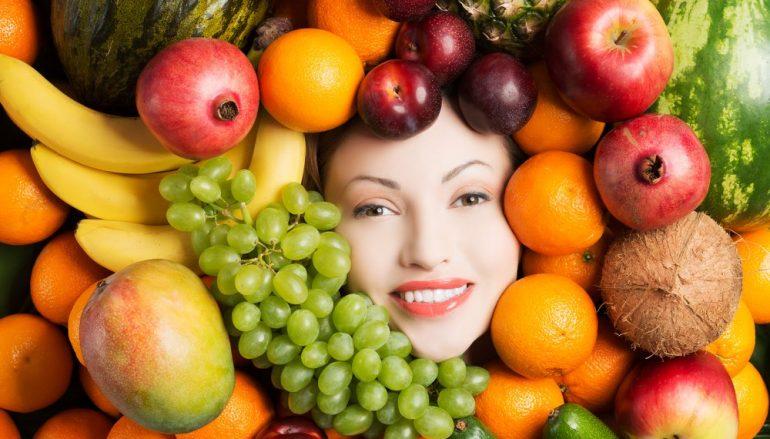 درمان جوش صورت با تغذیه