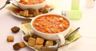 سوپ ورمیشل یا سوپ رشته فرنگی