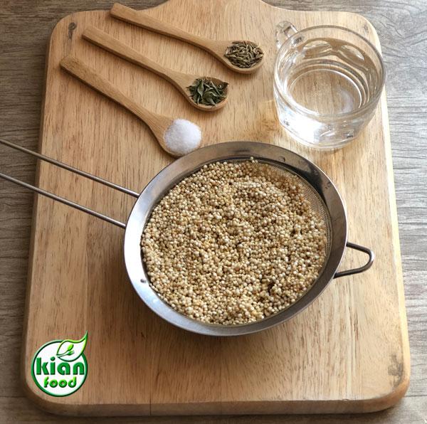 طرز تهیه نان کینوا