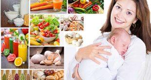 برنامه رژیم لاغری در دوران شیردهی